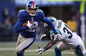 NY Giants wide receiver Steve Smith