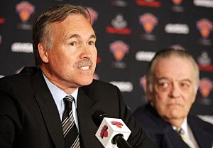 Mike D'Antoni and Donnie Walsh