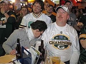 Green Bay Packers Fans Bowl XLV