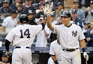 Curtis Granderson and Mark Teixeira