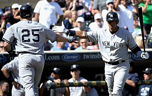 Mark Teixeira, Alex Rodriguez