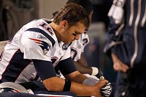 Dejected Tom Brady