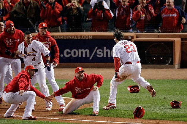 2011 World Series Game 6 - Texas Rangers v St Louis Cardinals