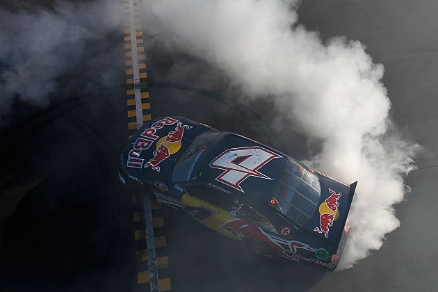 Kasey Kahne's Burnout after winning Kobalt Tools 500