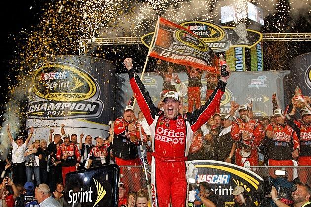 Tony Stewart wins Championship