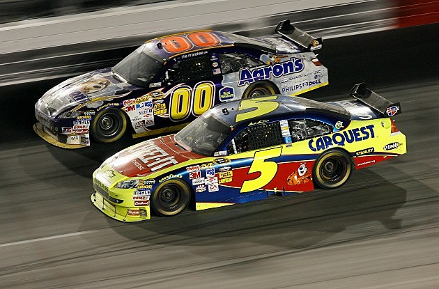 Mark Martin and David Reutimann