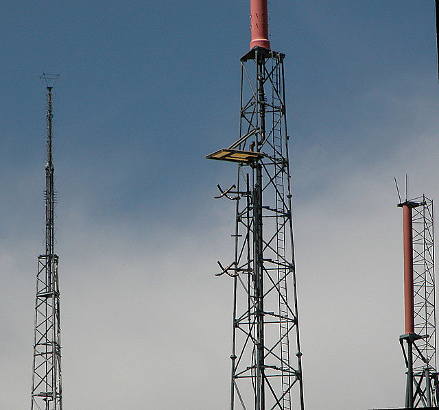 FM antenna tower