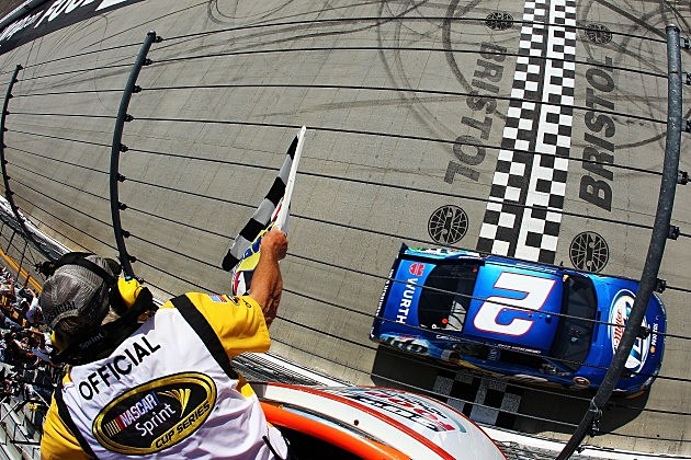 Food City 500-Keselowski Wins