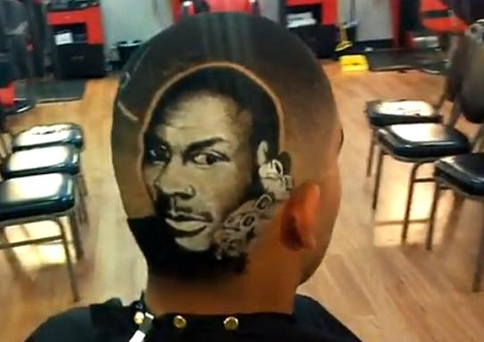 Awesome Michael Jordan Haircut Video