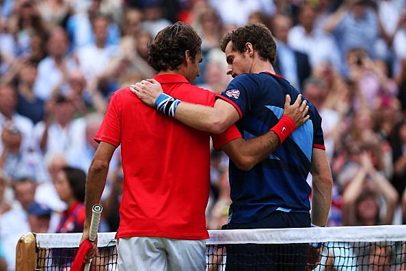 Andy Murray, Roger Federer