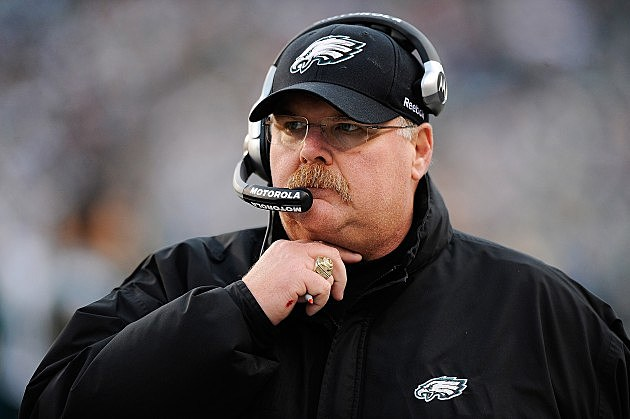 Philadelphia Eagles Coach Andy Reid