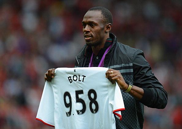 Usain Bolt Manchester United