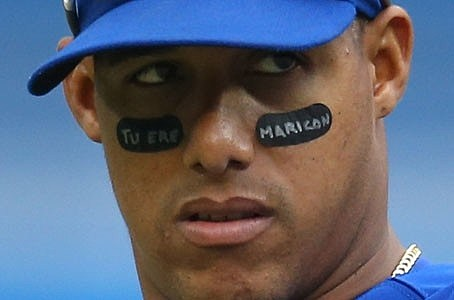 Yunel Escobar Eye Black