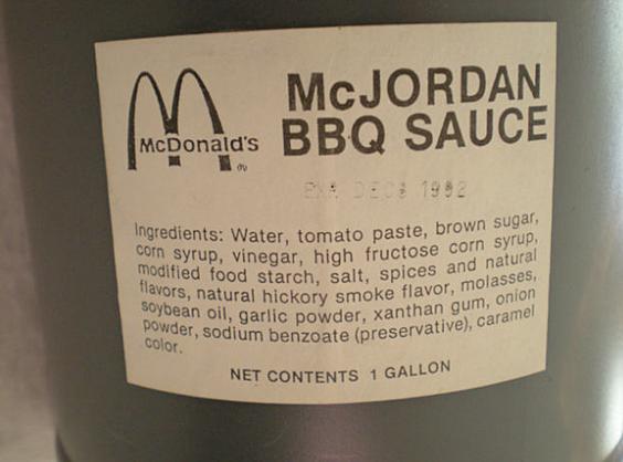 McJordan Sauce