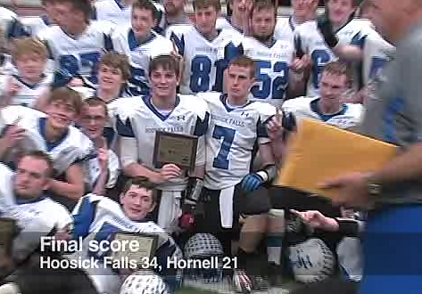 HOOSICK FALLS PANTHERS FOOTBALL STATE CHAMPIONS