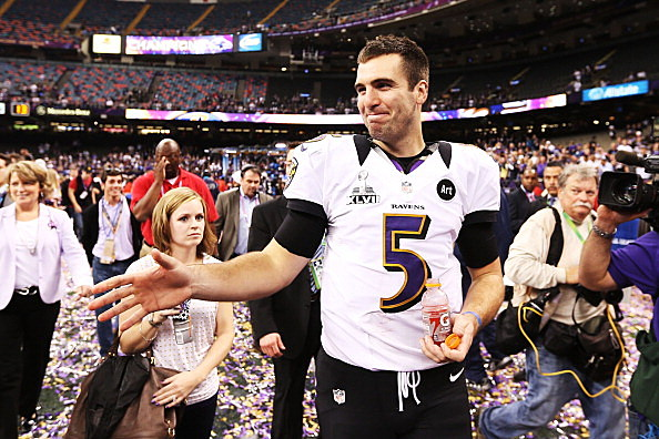 Joe Flacco F-ing Awesome