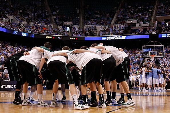 NCAA Basketball Tournament - Vermont v UNC