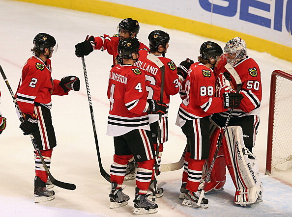chicago blackhawks point streak
