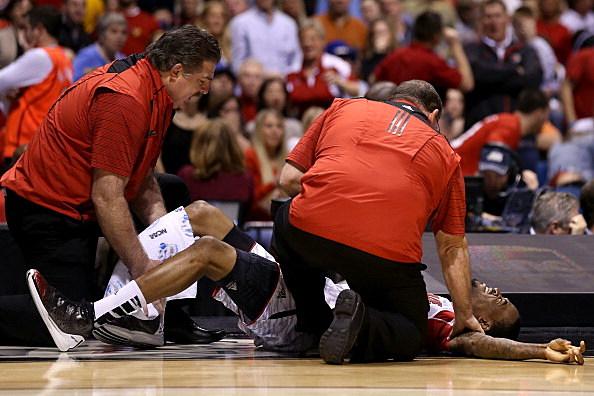 Kevin Ware Broken Leg