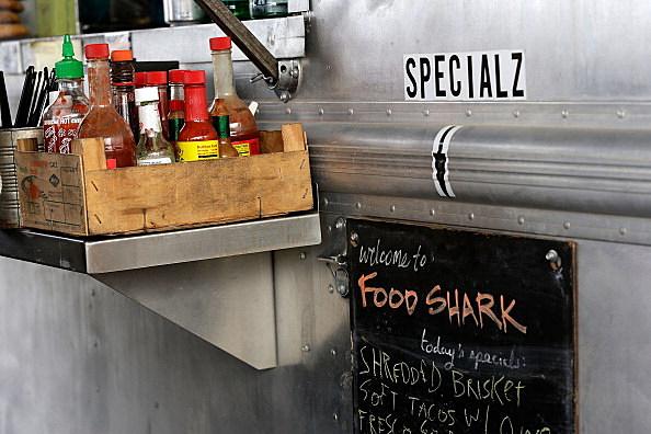 The Food Shark food truck