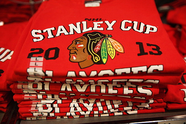 City Of Chicago Prepares For Start Of The Stanley Cup Series