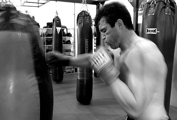 UFC 148 Preview: Chael Sonnen Workout