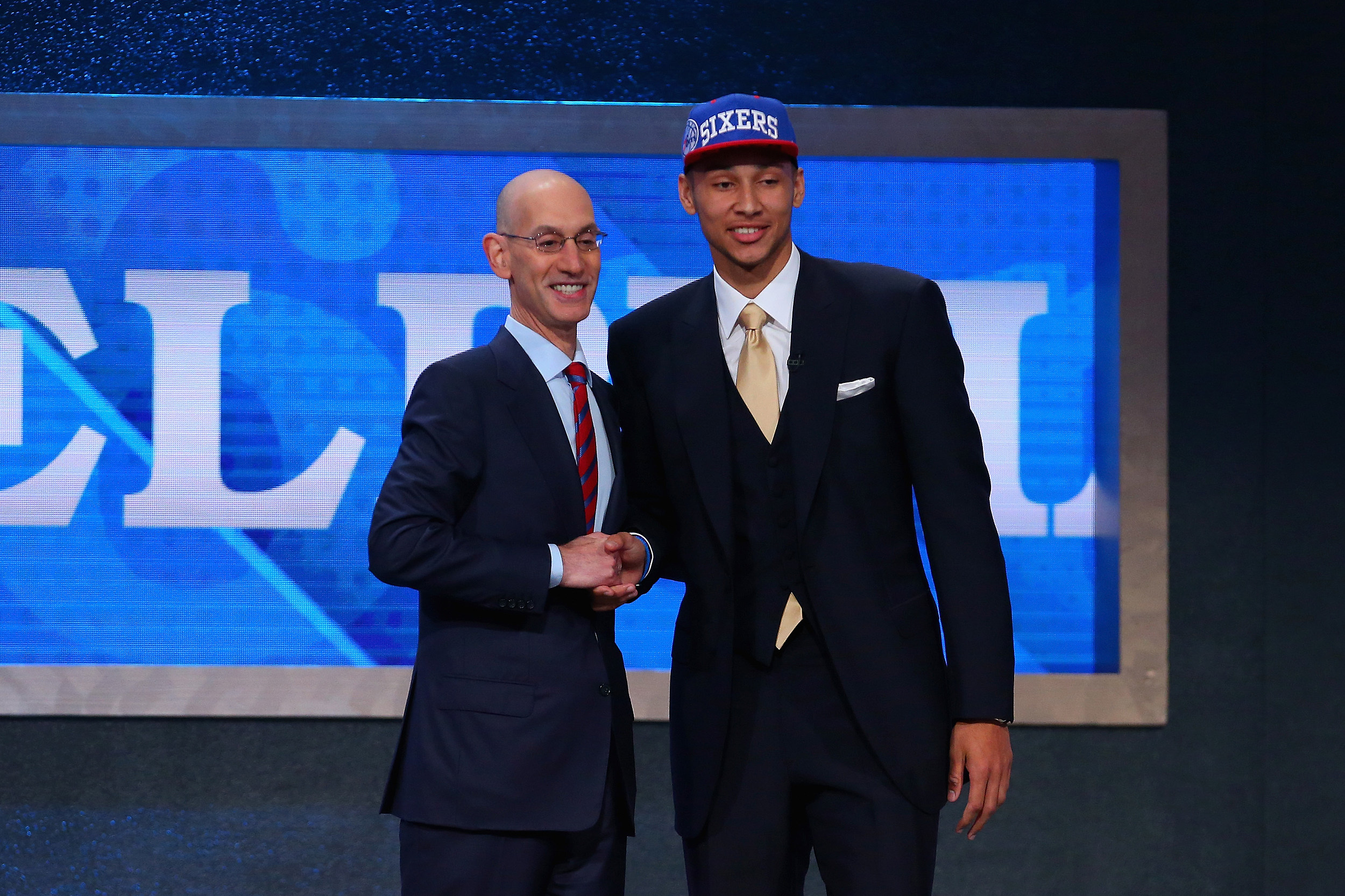 LSU's Ben Simmons selected No. 1 in 2016 NBA Draft by 76ers