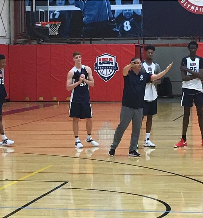 Huerter Named to USA U19 World Cup Team