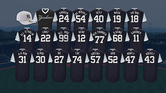 Yankees nicknames